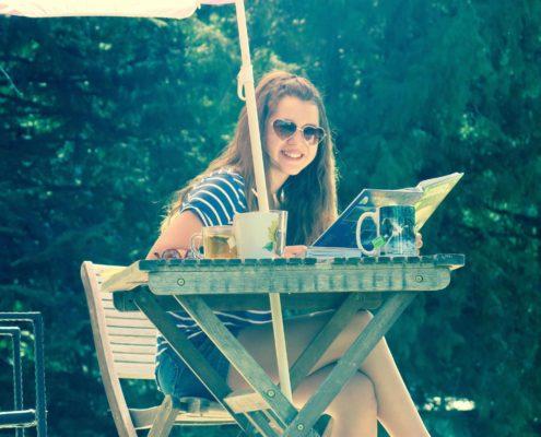 homeschooling in the sunshine